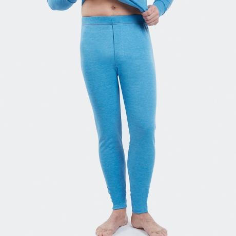 Caleçon long chaleur intense bleu jean 37