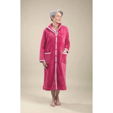 robe de chambre ultra douce v tements de nuit femme jet toulouse. Black Bedroom Furniture Sets. Home Design Ideas